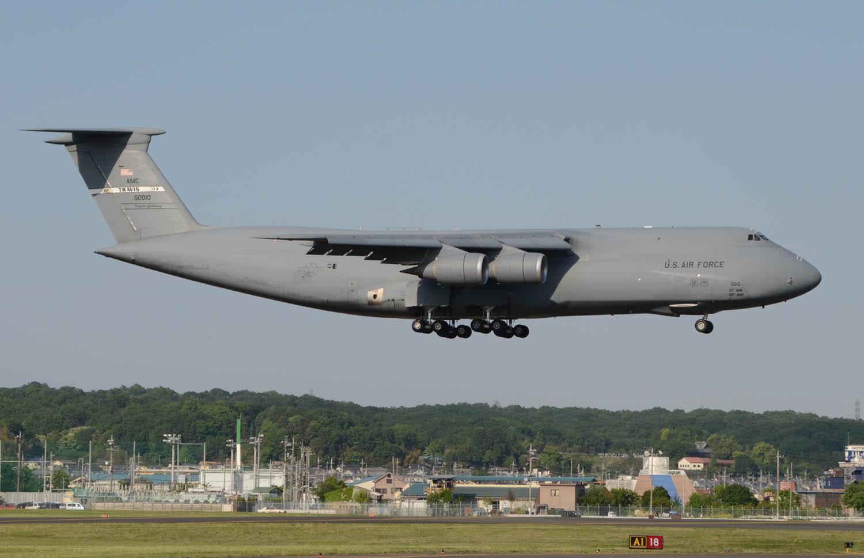 5月7日 C-5M TRAVIS
