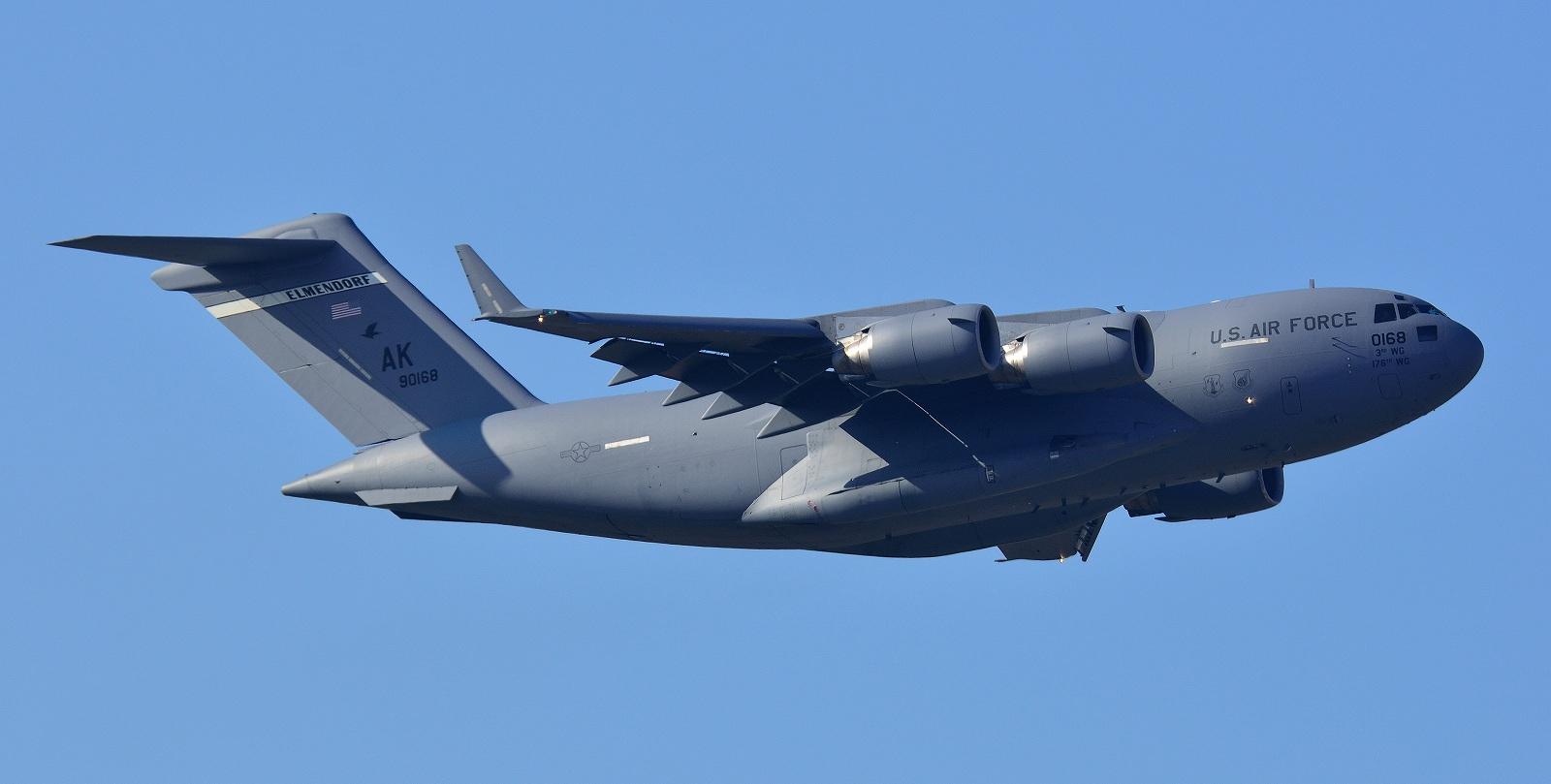 1月16日 C-17A , C-20G