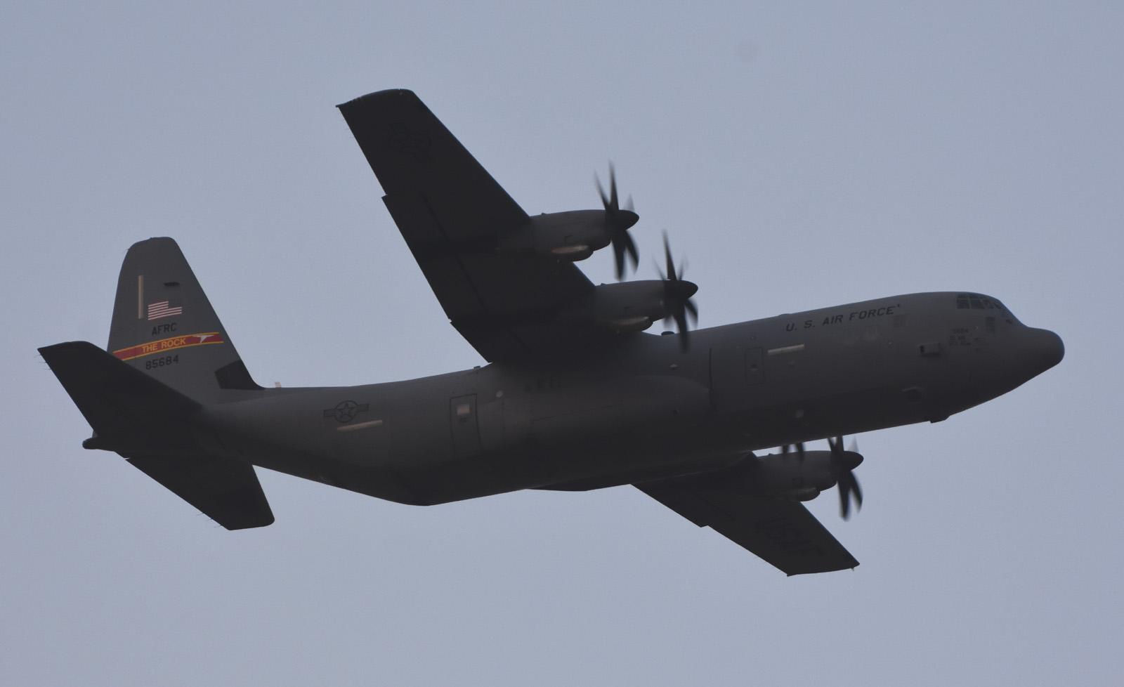 1月19日 C-130J-30 THE ROCK
